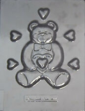 Large Bear with Hearts Chocolate  Candy Mold #639