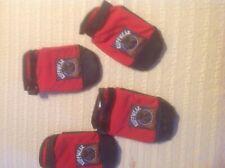 RUFFWEAR XL RED AND BLACK  BOOTIES
