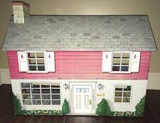 Vintage Marx Tin Metal Colonial 2 Story Dollhouse
