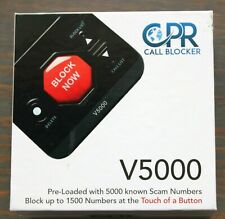 New in Box Cpr V5000 W/5000 Known Robocalls & Additional 1500 Unwanted Calls-G9