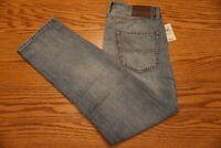 NWT MEN'S LUCKY BRAND JEANS 410 Multiple Sizes Athletic Slim Little Rock Linen