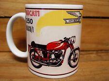 300ml COFFEE MUG, DUCATI 250 MACH 1 MOTORCYCLE