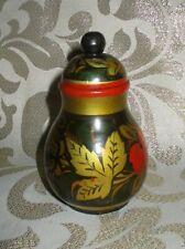 Happily Spirited KHOKLHOMA Wood Jar, Playful Unknown Entity, DJINN? Dreamwalker