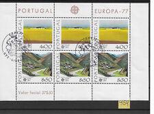 Portugal, KB Europa-Marken 1977 gestempelt (959)
