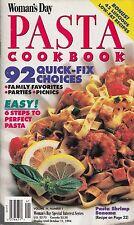 WOMAN'S DAY PASTA COOKBOOK VOLUME IV, #1 VINTAGE 1994 GARDEN PASTA SALAD & MORE!