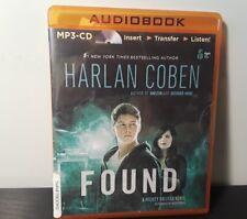 Mickey Bolitar: Found 3 by Harlan Coben (2014, MP3 CD, Unabridged)