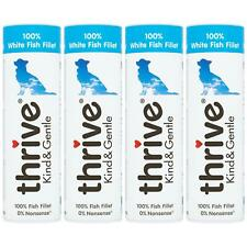 4 x Thrive Kind & Gentle 100% White Fish Dog Treats Tube Natural Real Meat - 15g