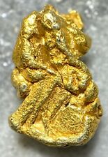 Beautiful Alaskan Natural Placer Gold Nugget .800 grams Free Shipping! #A2092