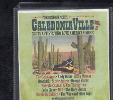 CALEDONIA VILLE Scots Artists Who Love American Musi VOL II CD PROMO ##