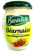Benedicta Bearnaise Sauce Zwiebeln Schalotten Estragon 260 g Glas