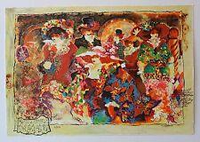 Sergey Kovrigo Set of 6 serigraphs on paper Limited Edition Hand Signed Flowers