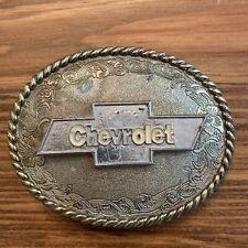"Vintage 1978 Chevrolet Raintree 3.5"" Belt Buckle Free Shipping"