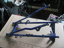 YAMAHA RAPTOR 660R YFM660R SUB FRAME BLUE  01-05 rear grab bar suspension member