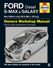 HAYNES 6299 SERVICE REPAIR MANUAL FORD S-MAX GALAXY (MAR 06 - JULY 15) DIESEL