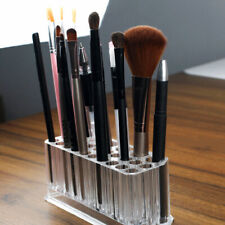 LN_ CLEAR 26 HOLDER BRUSH MAKEUP COSMETIC ORGANIZER EYELINER DISPLAY STAND STR