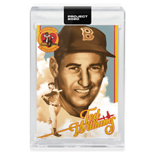 Topps PROJECT 2020 Card 293 - 1954 Ted Williams by Matt Taylor -Presale-