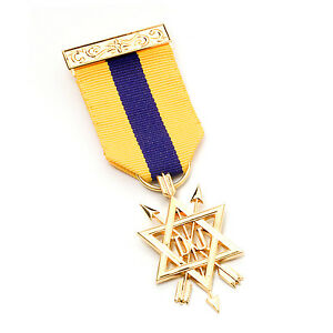 Order of Secret Monitor 2nd Degree Breast Jewel OSM With a Jewel Wallet