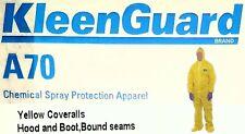 Kimberly-Clark Pro A70 Er Biohazard Chemical Spray Splash Protection Coverall Xl
