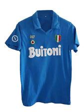 Napoli soccer jersey Maradona 1987. Replica Vintage