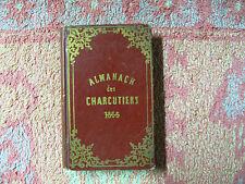 Almanach et annuaire général du commerce de la charcuterie de Paris 1866