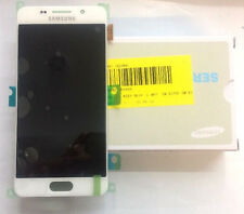Genuine Samsung Galaxy A3(2016) A310, F, DS, White Amoled Lcd Digitizer Assembly