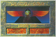 GRATEFUL DEAD Egypt Great Pyramid of Giza 1978 Concert Poster