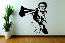 Dirty Harry Clint Eastwood Cine De Arte de pared calcomanía Cita De Vinilo De Pared