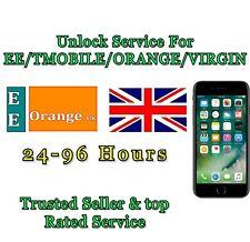 UNLOCK SERVICE Code For iPhone 8 8 plus  X Unlocking For EE ORANGE T-MOBILE UK
