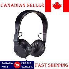 Marley Rebel On-Ear Wired Ear Headphones In-line Microphone Super Headset Black