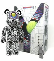 Sasada Yasuto Ground Y 400% 100% Bearbrick Be@rbrick Medicom Toy Rare Limited