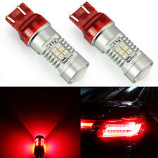 JDM ASTAR 2x 7443 7440 Super Red PX 21-SMD High Power LED Brake Tail Lights Bulb