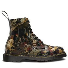 Dr. Martens Multi-Coloured 100% Leather Boots for Women