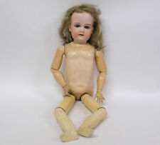 "Antique Big Bisque Head of Character Doll ""A 14 M"""