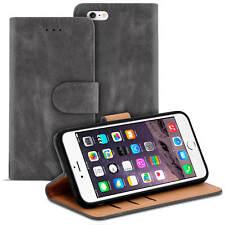 Handy Tasche für Apple iPhone 6 Plus / 6S Plus Hülle Case Schutzhülle Cover Grau