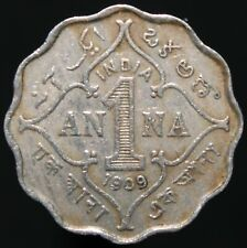 More details for 1909 b | british india edward vii 1 anna | cupro-nickel | coins | km coins