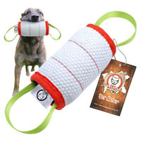 Durable Dog Training Tug Toy 2 Handle Chewing Play for K9  Dog Schutzhund