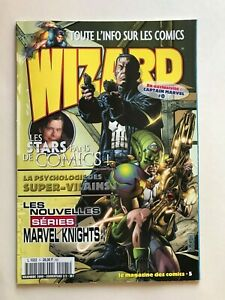 WIZARD Comics Magazine vol 1 #5  2000 French Punisher Cvr 2/2