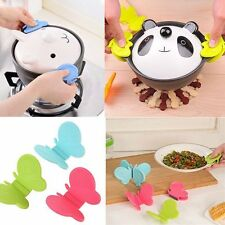1x Silicone Anti-scald Devices Butterfly-Shaped Kitchen Tool Fridge Magnet Decor