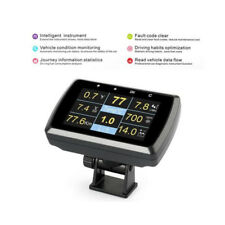 Car OBD OBD2 Driving Computer Speed Meter Digital Display Gauge With Holder WELL