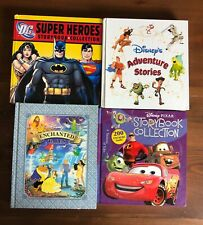 Lot 4 DISNEY Storybook Collection Adventure Stories Enchanted Tales Super Heroes
