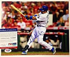 ADRIAN GONZALEZ Autograph DODGERS Signed 8x10 Photo PSA/DNA ITP Witness COA (d)