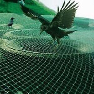 Profi Garten Netz Vogelschutznetz Gartennetz Obstbaumnetz Kirschbaumnetz 10 x 25