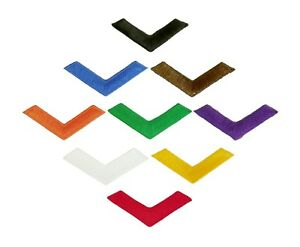 NEW Martial Arts Iron-On Chevron Patches - 9 Colors