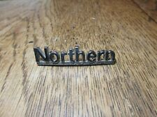 VINTAGE NORTHERN BUS   BADGE