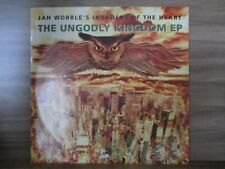 "Jah Wobble's Invaders Of The Heart ‎– The Ungodly Kingdom EP   Vinyl 12"" UK 1992"
