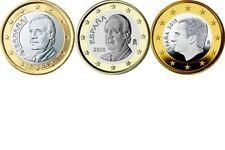 Pièces euro d'Espagne pour 1 euro