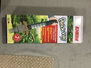 EHEIM Quick Vac Pro Automatic Gravel Cleaner and Sludge Extractor new in box