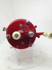 Abu Ab.urfabriken svangsta - Sweden Ambassadeur 5000 3-Screw Red Vintage Reel