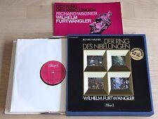 FURTWANGLER Ring des Nibelungen WAGNER 1stPress HMV ELECTROLA 18LP Box MINT