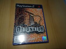 PS2 Detonator  UK Pal, New  Sony Factory Sealed